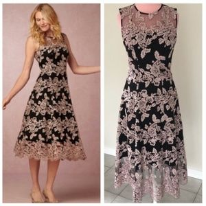 Anthropologie BHLDN Hitherto Tonya Dress NWOT